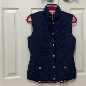 LIKE NEW Lilly Pulitzer Quilted Puffer Vest